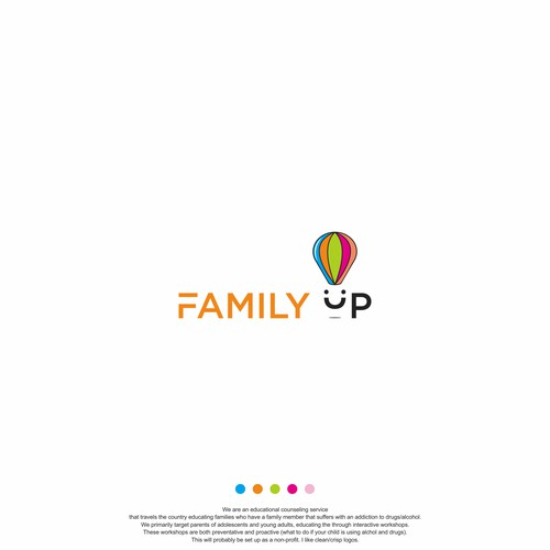 logo concept for Family Up