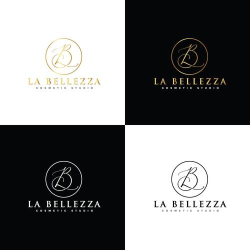 Elegant logo design for Cosmetic Studio.