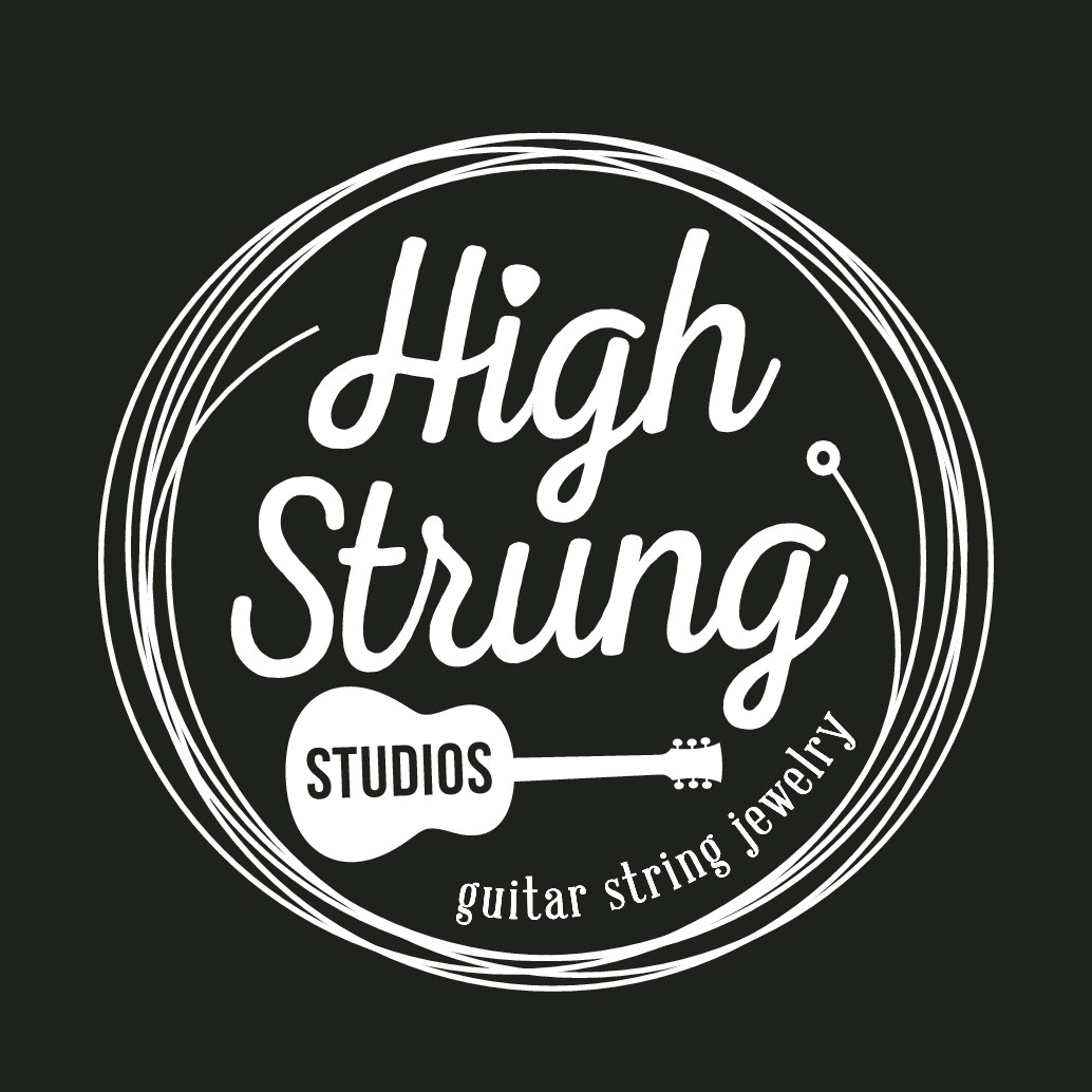 Design a logo that rocks for my Guitar String Jewelry brand!