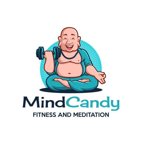 Fitness and Meditation Budha