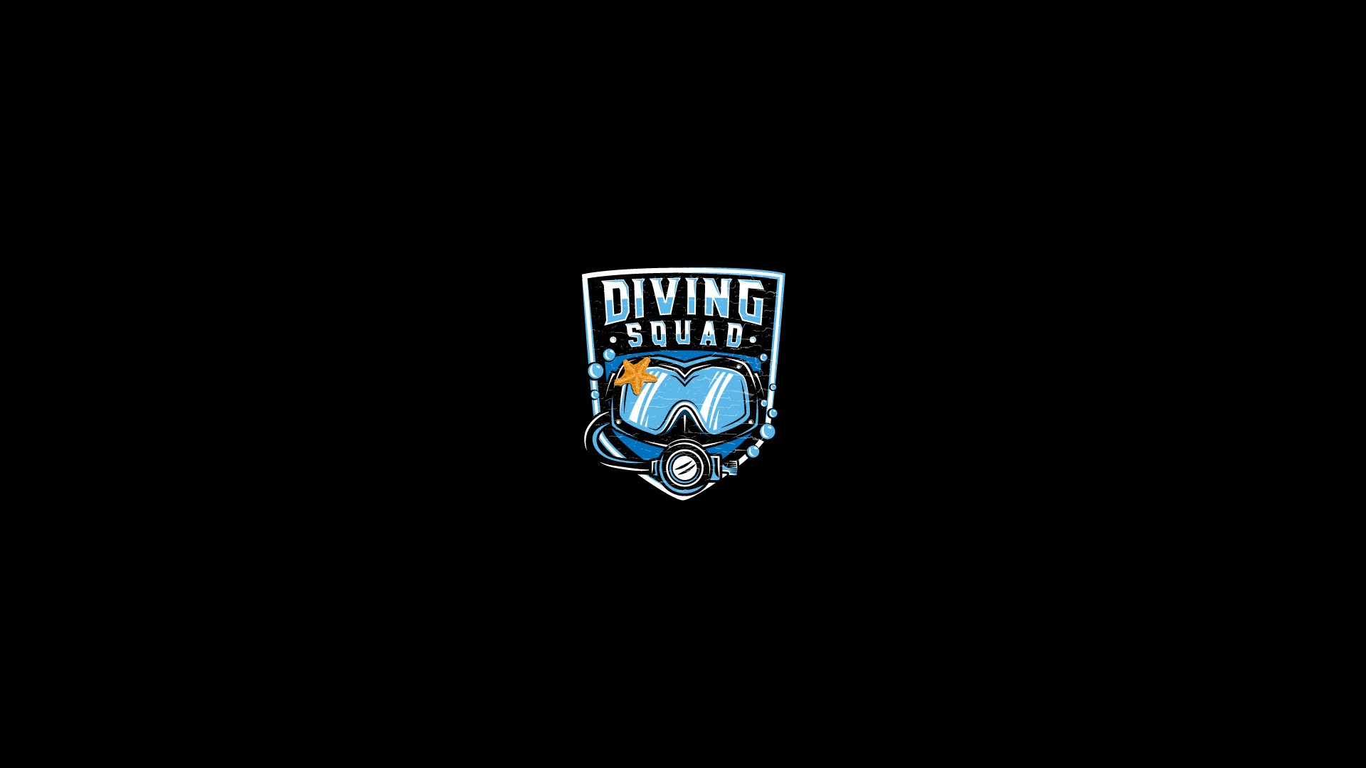 Designers! Create a badass/military style scuba diving mask outline...
