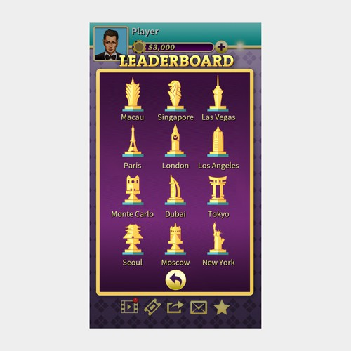 Trophies icon for the games
