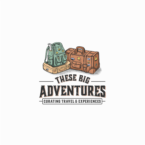 Logo design for These Big Adventure