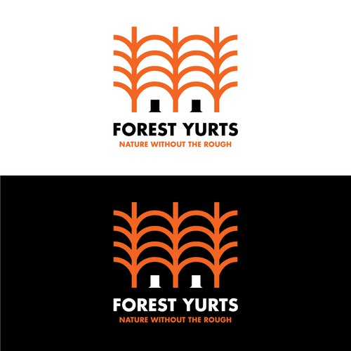Logo design entry for Forest Yurts