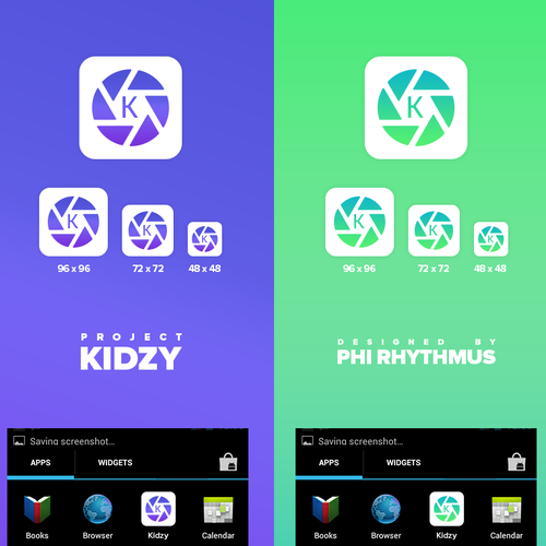 App Icon - attractive and professional Kidzy app icon for Android