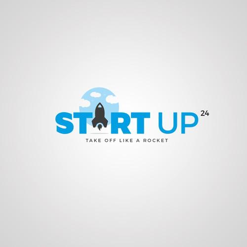 Logo Concept for STARTUP24
