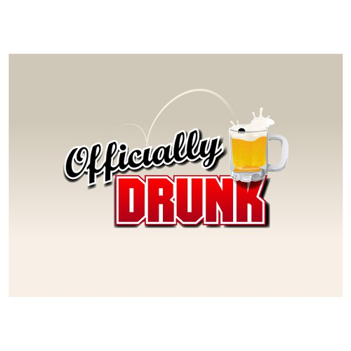 Logo for OfficiallyDrunk.com - Drinking Games and Goods!