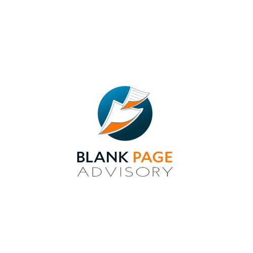 Blank Page Logo
