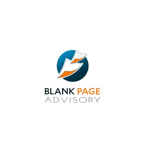 Blank Page Logo