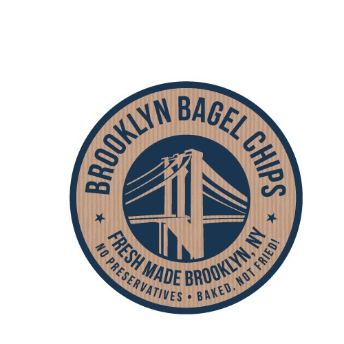 Create the next logo for NY Bagel Chips
