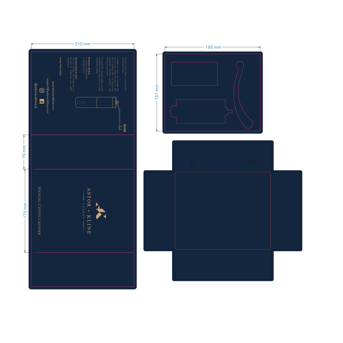 Design Box for New Product
