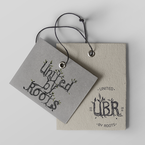 United By roots - Logo design.