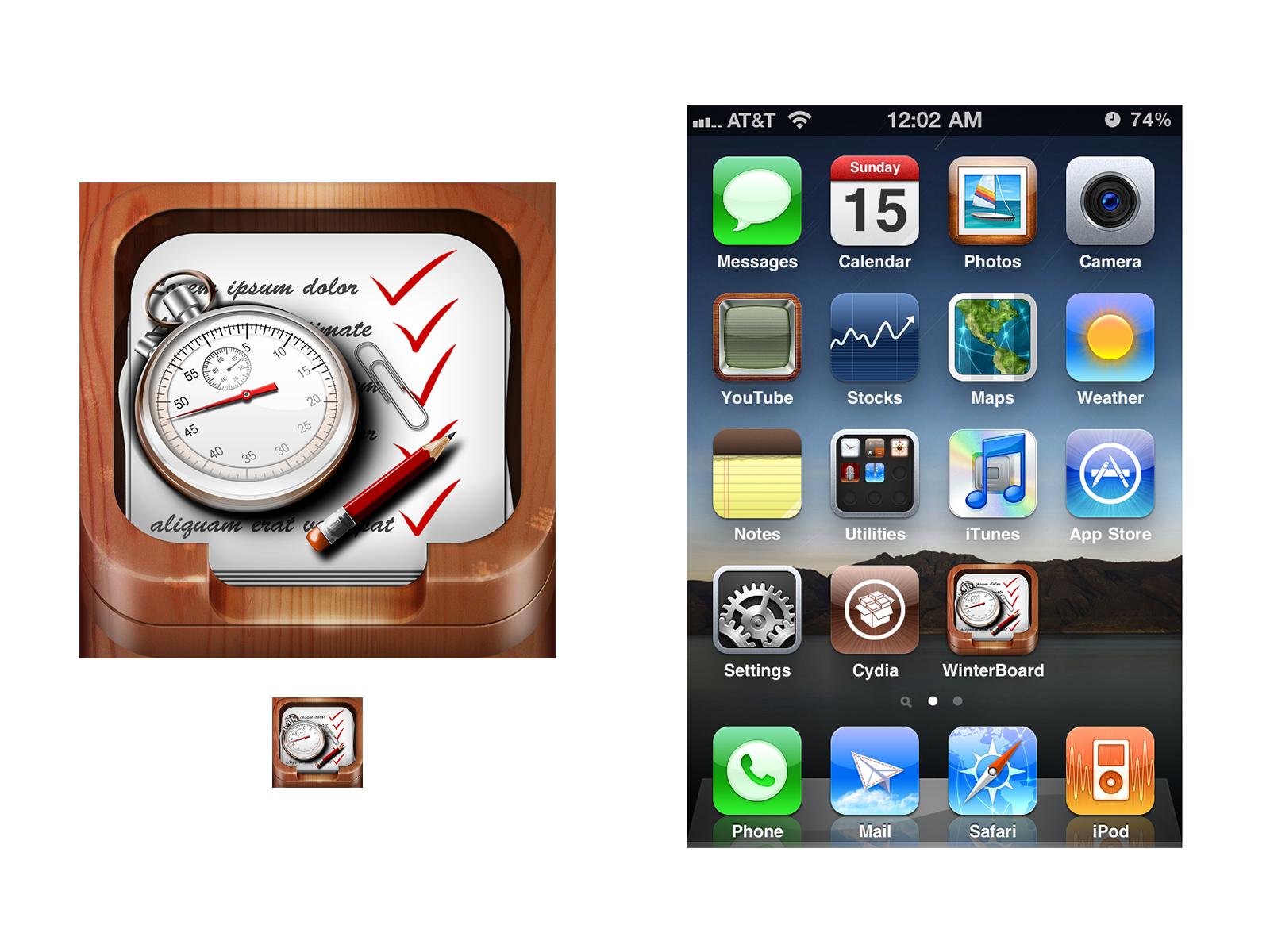 Estimates iPhone App needs a new icon