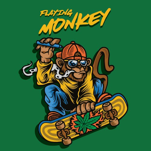 flaying monkey