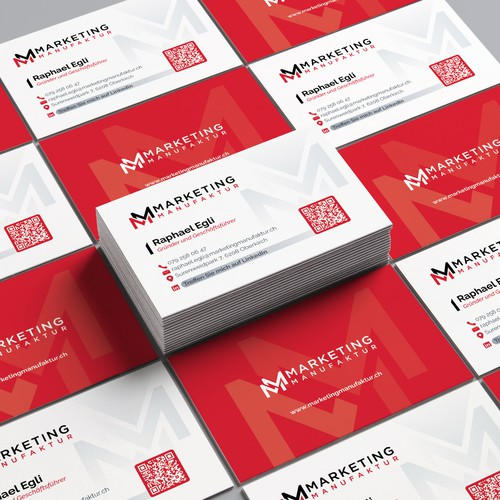 Marketing Manufaktur Business Card