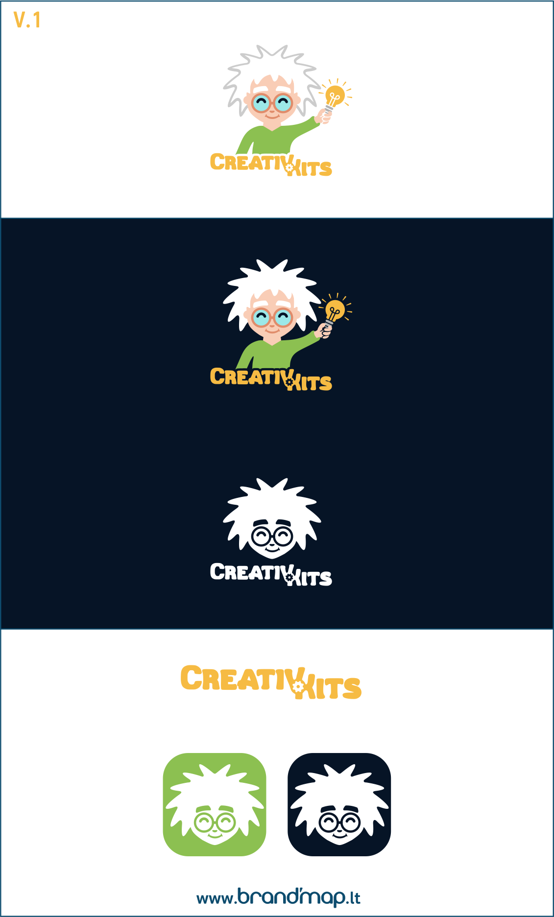 Design an engaging Logo for CreativKits, a kits for kids company!
