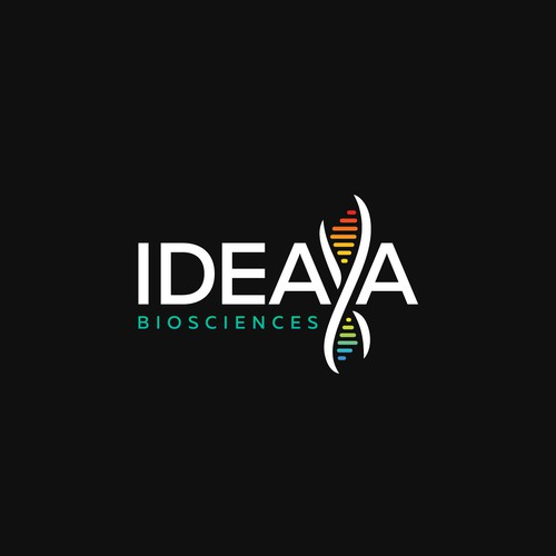 Creative logo for IDEAYA project.