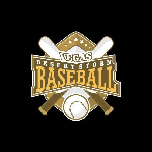 Youth Club Baseball Team Logo