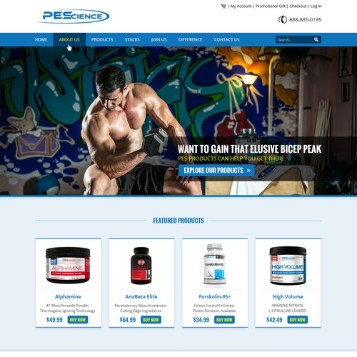 Responsive Layout for PEScience
