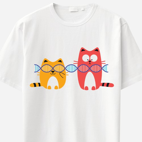 Cats Playing With DNA