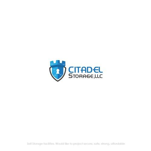 Logo Design for CITADEL STORAGE LLC
