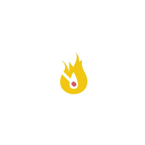 "Flame for ""lit"" logo!"