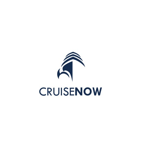 Logo for a  travel agency, cruise