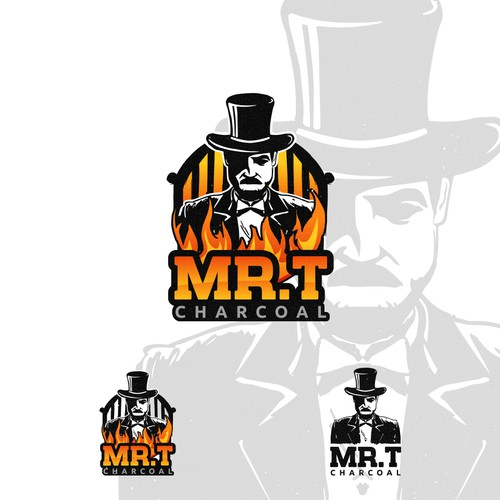 Winning Logo in contest : Mr. T Charcoal