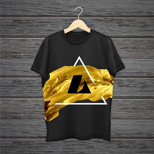 T-shirt Minimal concept