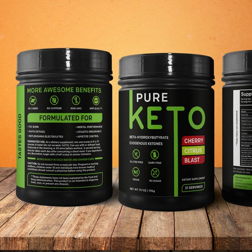 Label Design for Supplement