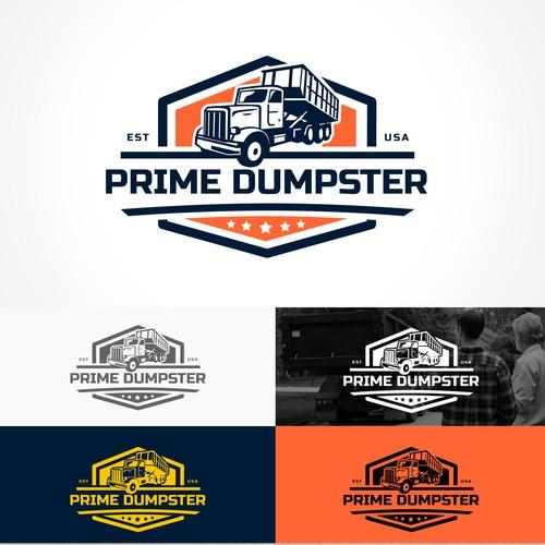 Prime Dumpster Logo