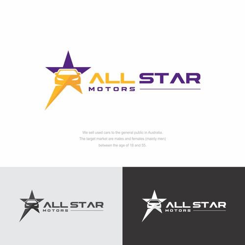 All Star Motors logo, car dealer