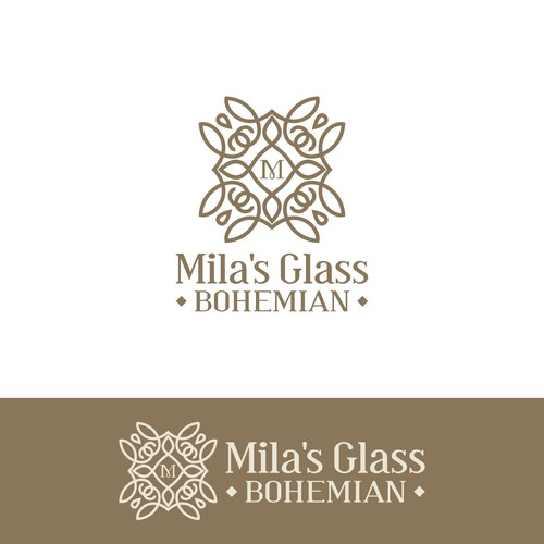 Classy logo for a Glass workshop