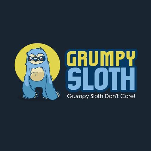 Logo - Grumpy Sloth