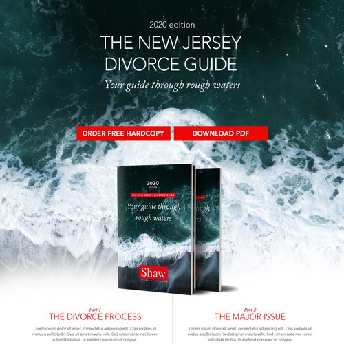 Landing page for Shaw Divorce & Family Law LLC