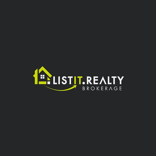 LISTIT.REALITY LOGO DESIGN