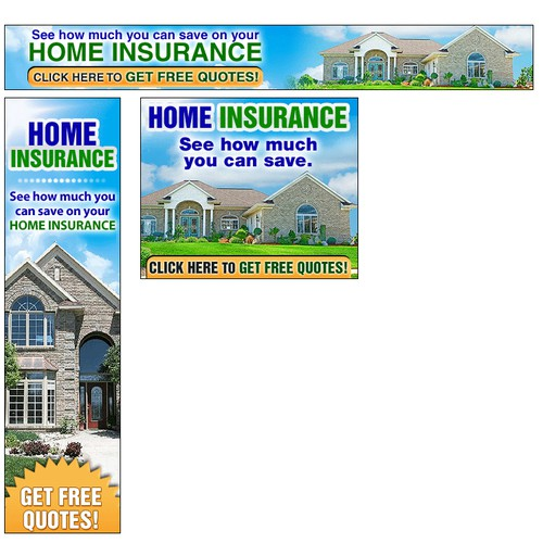 Banners for Insurance Quotes