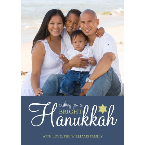 """Picaboo 5"""" x 7"""" Flat Hanukkah Cards (will award up to 25 designs!)"""