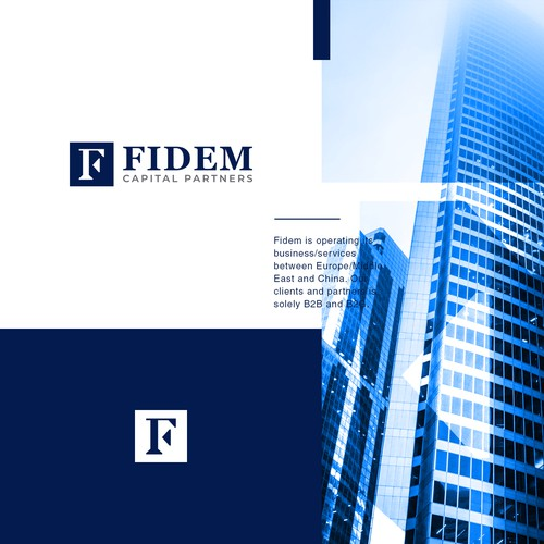 High-End Logo for Fidem Capital Partners
