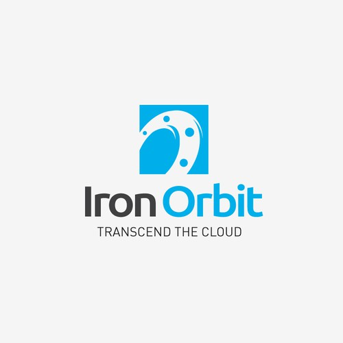 Logo design for cloud storage services