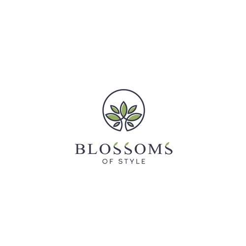 """Logo for """"Blossoms of Style"""""""