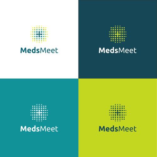 Logo design of MedsMeet