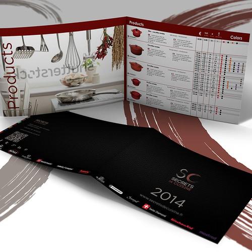 Create a nice and clean catalogue for secrets de cuisine - Step #1