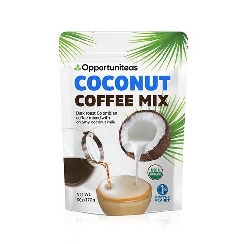 Coconut Coffe mix