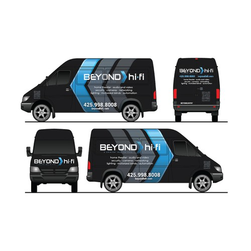 Change our generic white van into a showpiece!