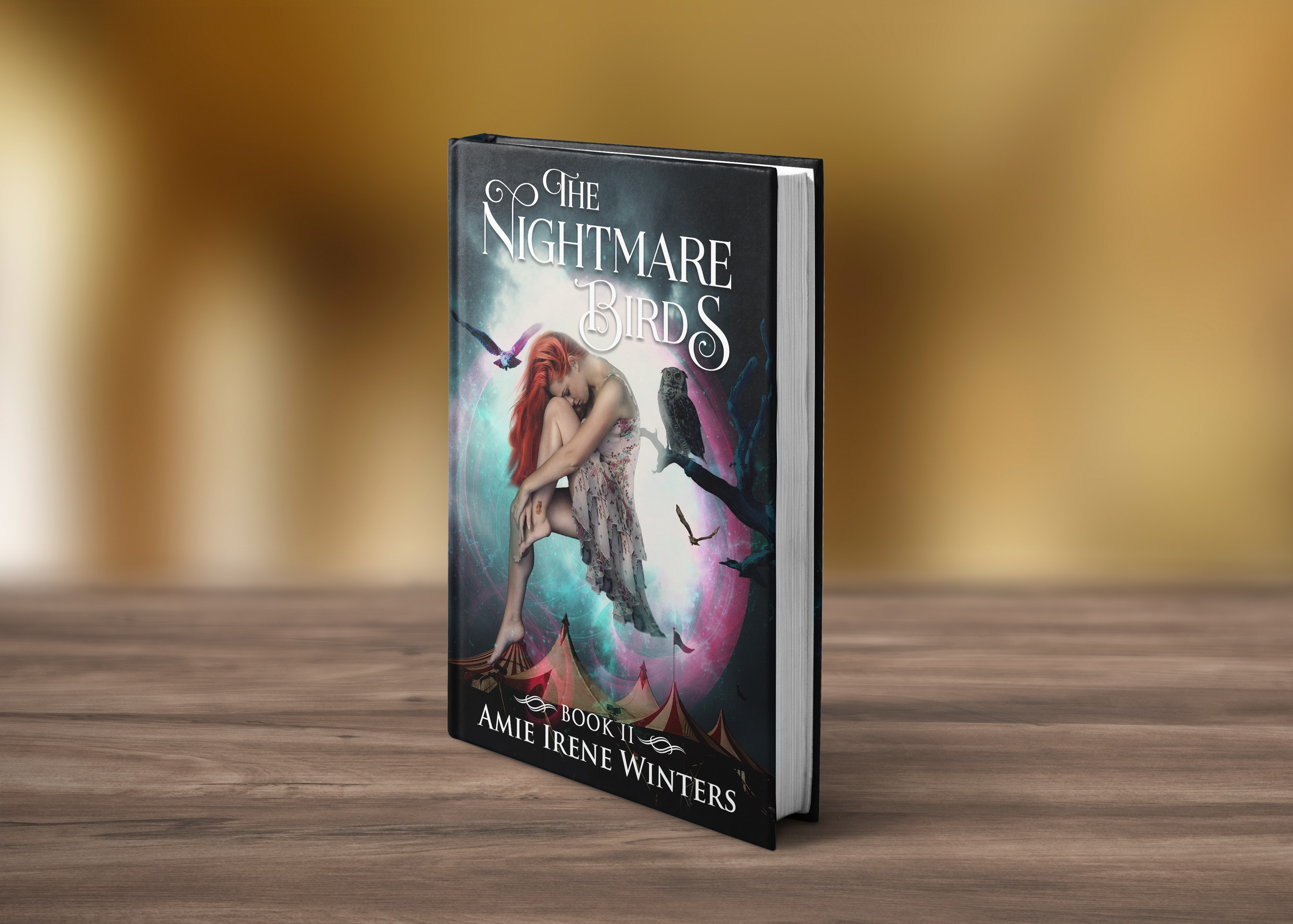 Create an eye-catching, mysterious, magical cover for my YA Fantasy book