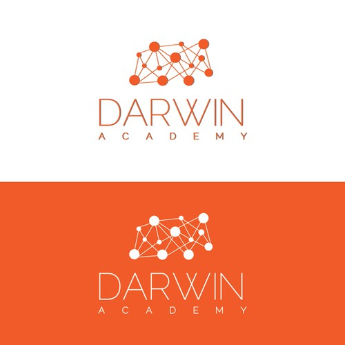 Create a modern logo for e-learning website