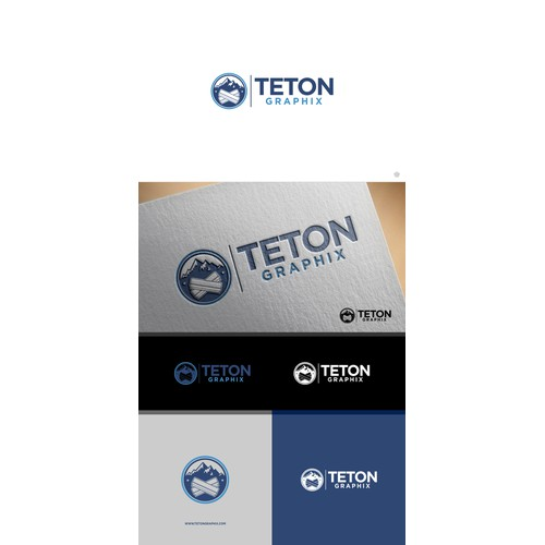 "Logo design for ""TETON GRAPHIX"""