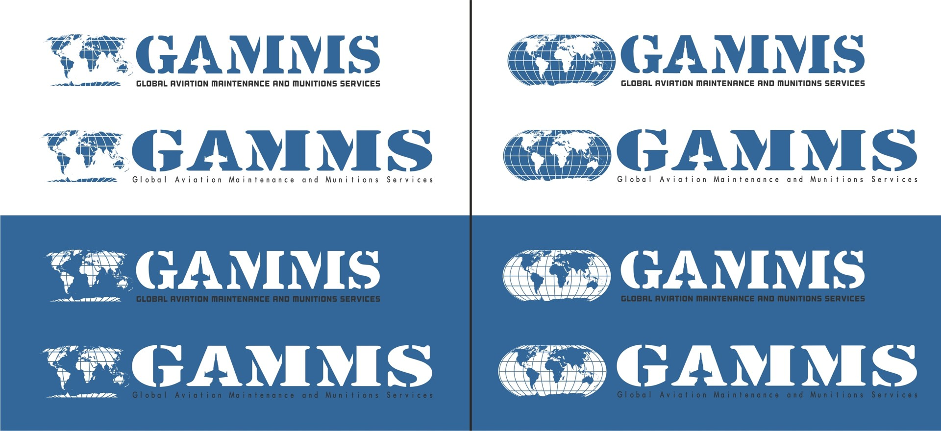 Create a Winning logo for Global Aviation Maintenance and Munitions Services