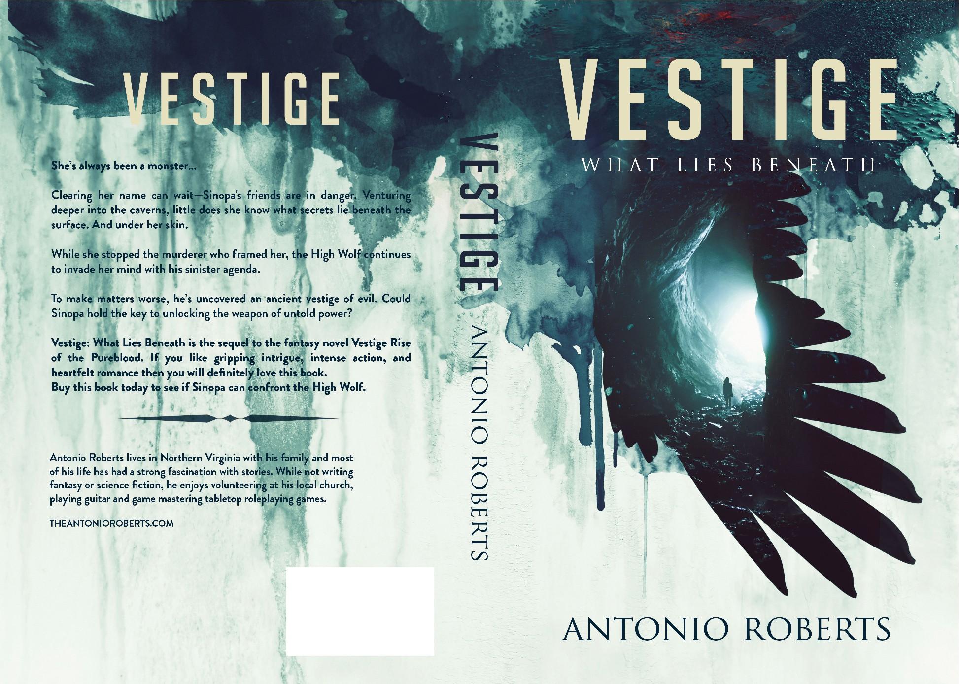 Design a Dark Fantasy novel cover